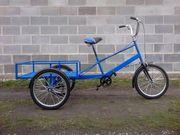 Велосипед трёхколёсный- веломобиль взрослый