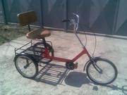 Велосипед трёхколёсный для взрослых с креслом
